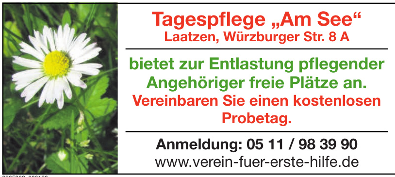 "Tagespflege ""Am See"""