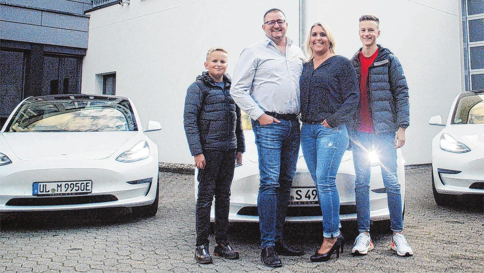 Familie Dodel verbindet seit drei Generationen Tradition mit innovativer und transparenter Unternehmensführung, um als Innovationsführer mit neuesten smarten Technologien dynamisch zu wachsen und Marktführer im Großraum Ulm zu sein. FOTOS: DIE LICHTFÄNGER - JOSEF SÄLZLE