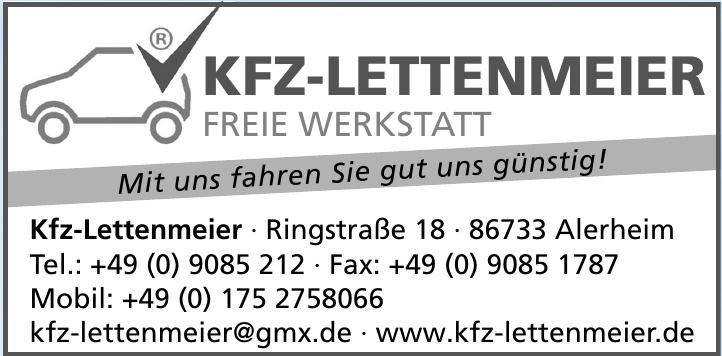 Kfz-Lettenmeier