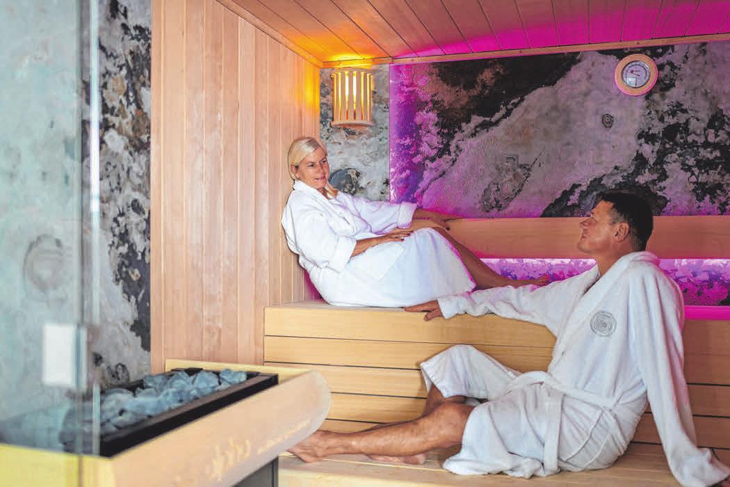 Ein bisschen Schwitzen in der Sauna, vor allem in der kalten Jahreszeit, tut gut. FOTO: PRIVAT