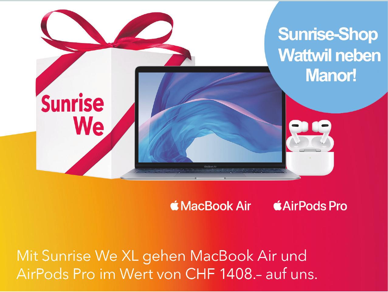 Sunrise-Shop Wattwil