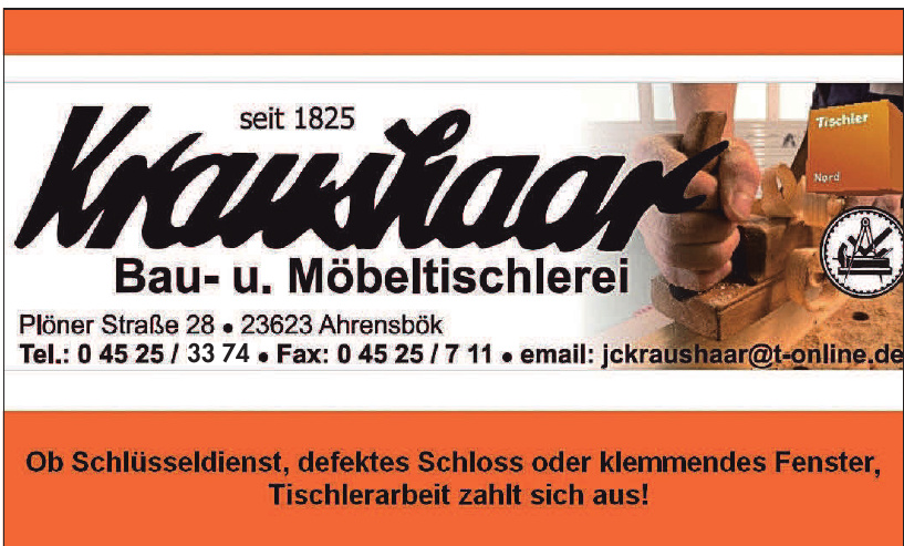 Kraushaar Bau- und Möbeltischlerei