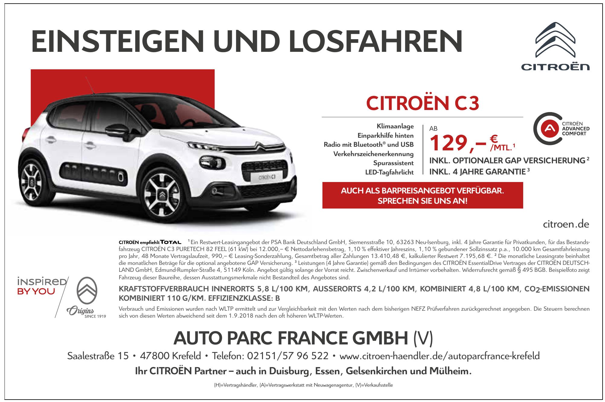 Auto Parc France GmbH