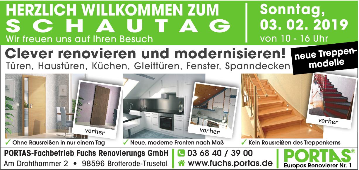 PORTAS-Fachbetrieb Fuchs Renovierungs GmbH