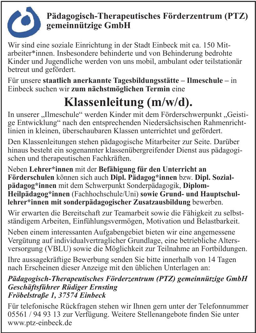 Pädagogisch-Therapeutisches Förderzentrum (PTZ) gemeinnützige GmbH