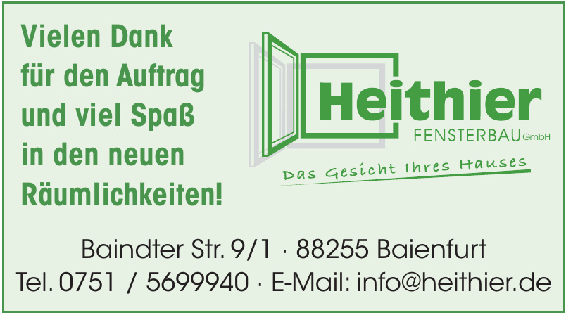 Heithier Fensterbau GmbH