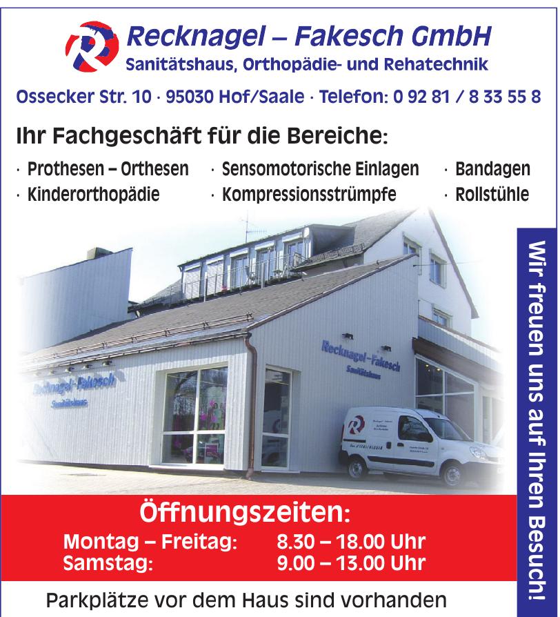 Recknagel - Fakesch GmbH