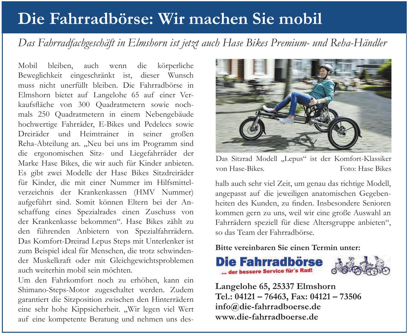 Fahrrad-Börse