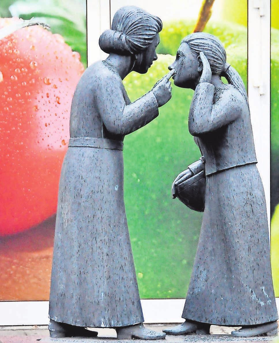 """Der """"Klönschnack"""": Das Wahrzeichen des schönen Stadtteils Kirchrode, in dem es sich prima leben lässt."""