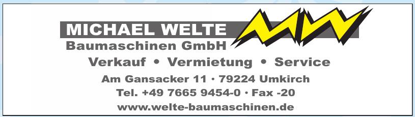Michael Welte Baumaschinen GmbH
