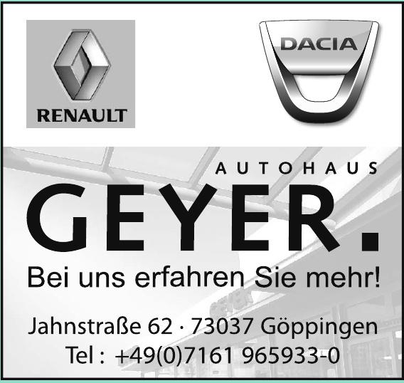 Autohaus Geyer GmbH & Co. KG