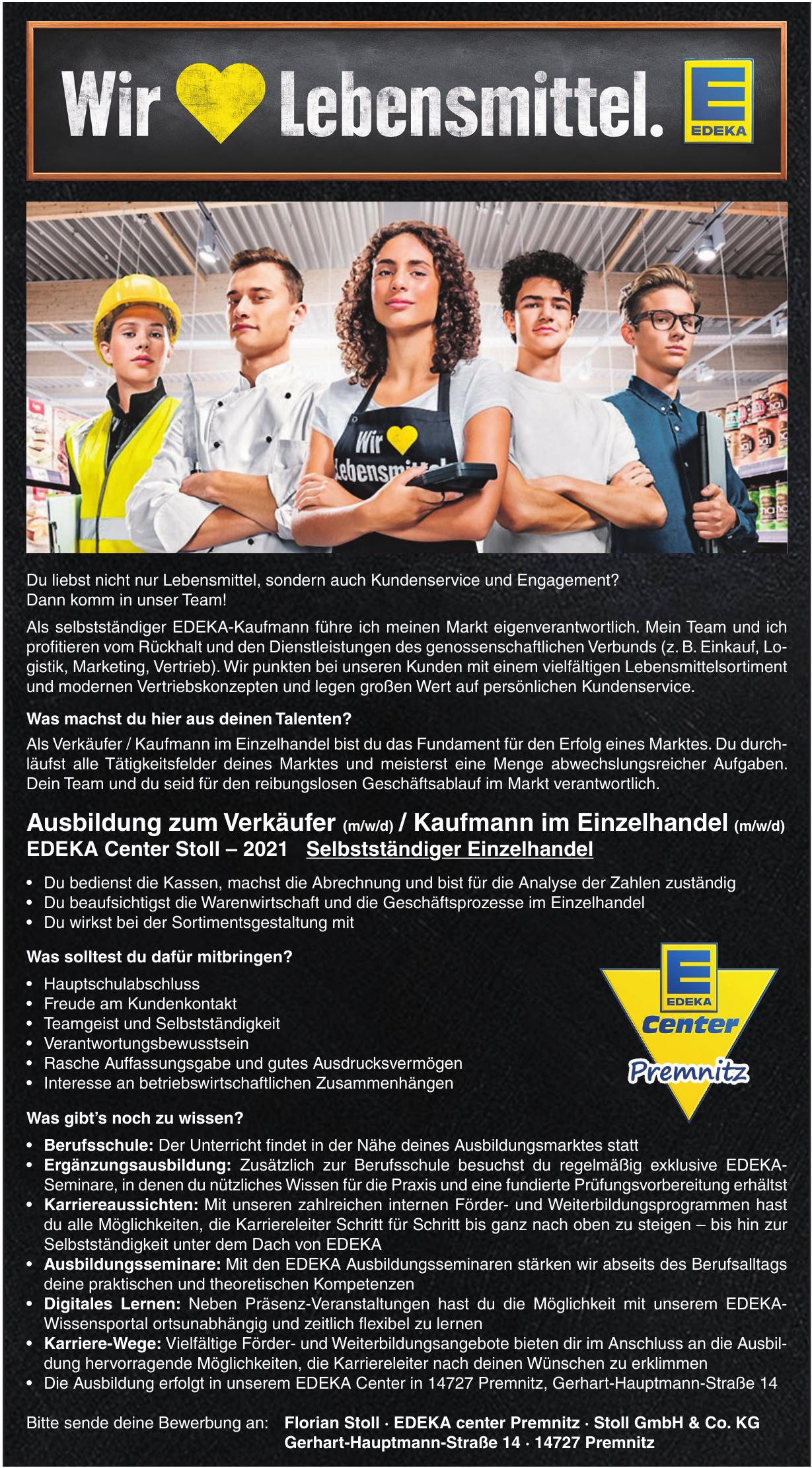EDEKA center Premnitz · Stoll GmbH & Co. KG