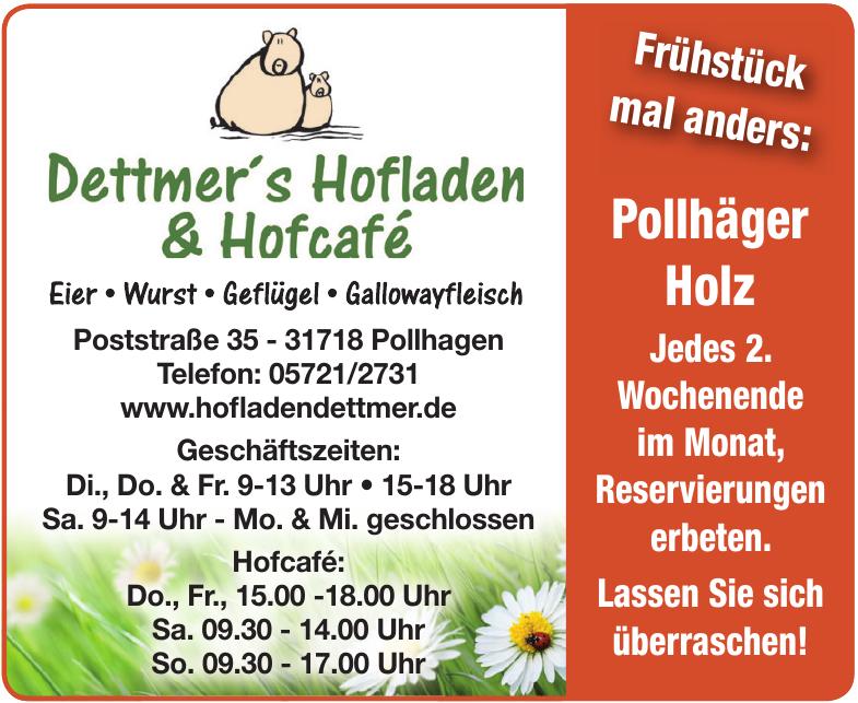 Dettmer´s Hofladen & Hofcafé