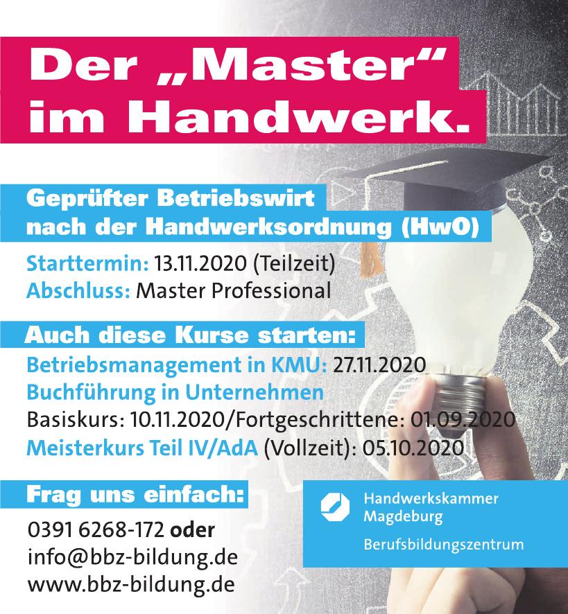 Handwerkskammer Magdeburg