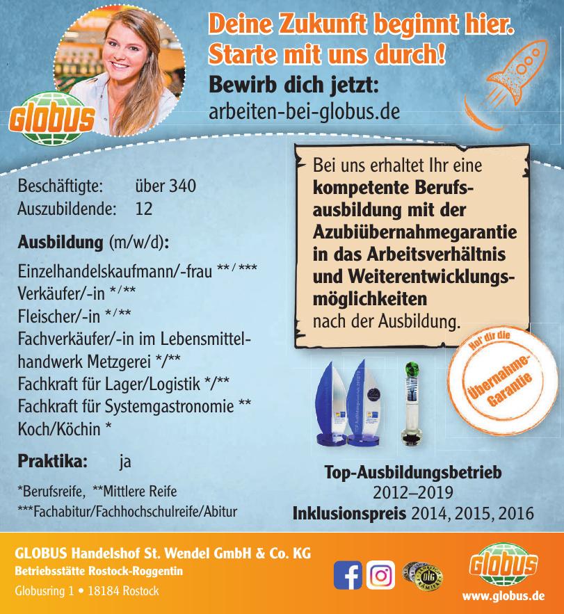 GLOBUS Handelshof St. Wendel GmbH & Co. KG Betriebsstätte Rostock-Roggentin