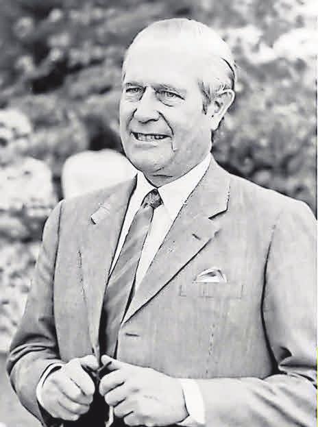 Gottfried von Cramm 1946. ullstein bild - Rîssner(L)