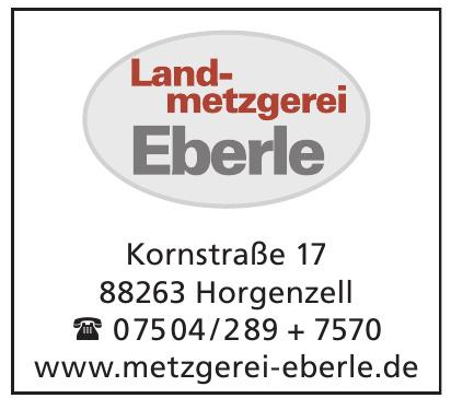 Landmetzgerei Eberle