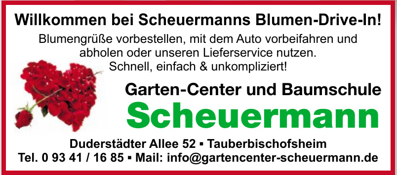 Garten-Center und Baumschule Scheuermann