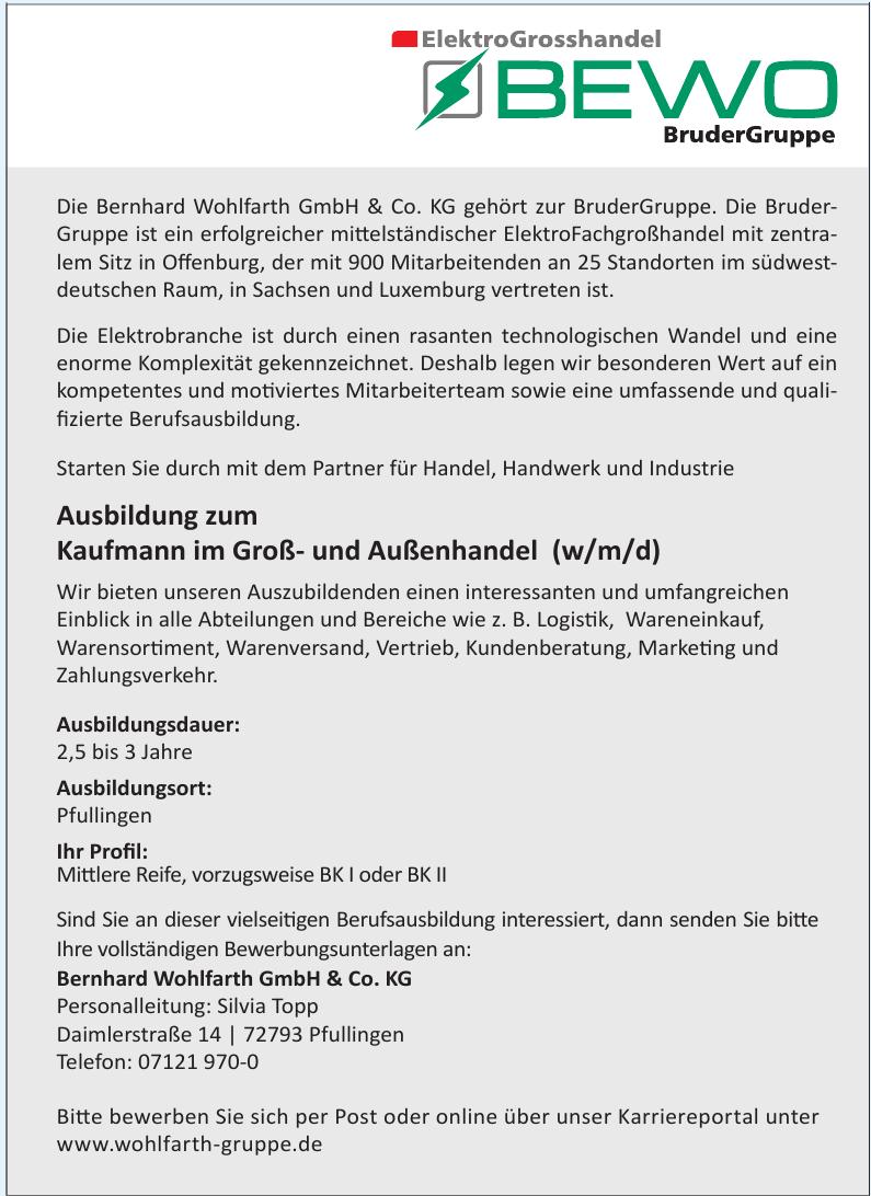 Bernhard Wohlfarth GmbH & Co. KG