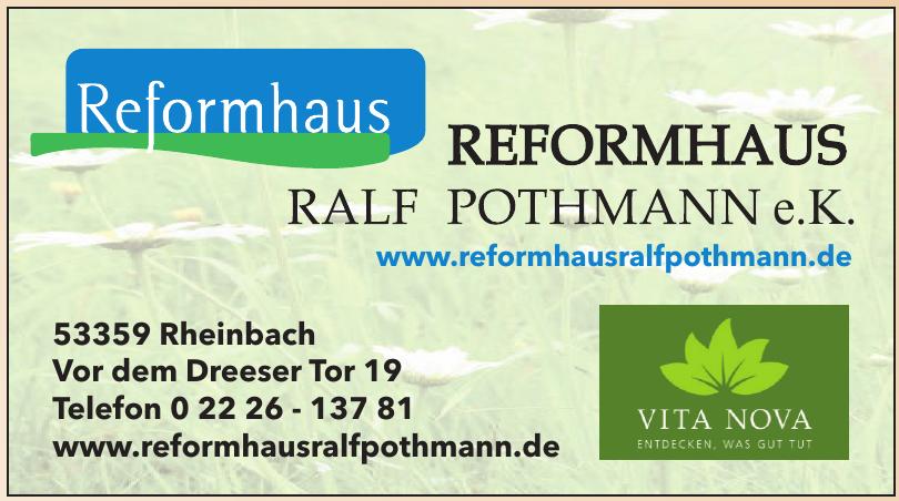 Reformhaus Ralf Pothmann