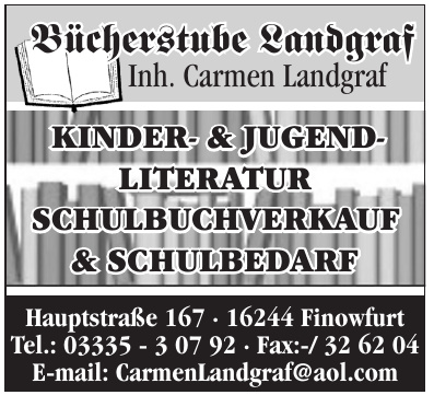 Bücherstube Landgraf