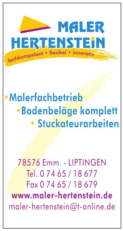 Maler Hertenstein