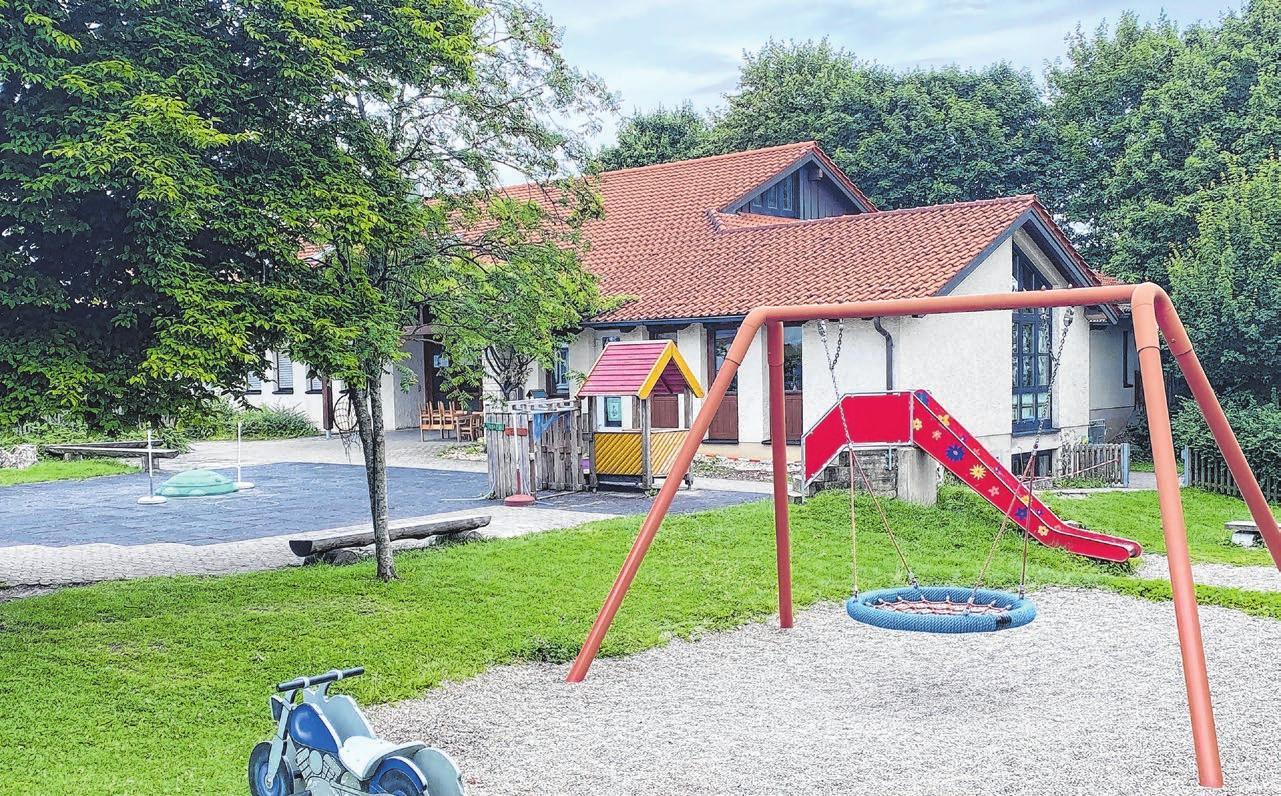 Der alte Kindergarten wird für das Präventions- und Gesundheitszentrum weichen.