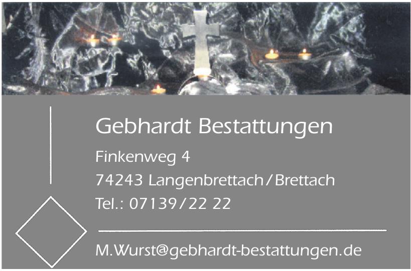 Gebhardt Bestattungen