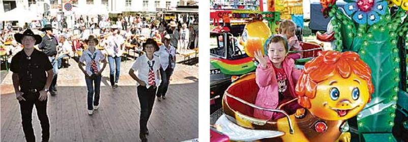 Das Spargelfest bietet ein umfangreiches Programm für Jung und Alt.