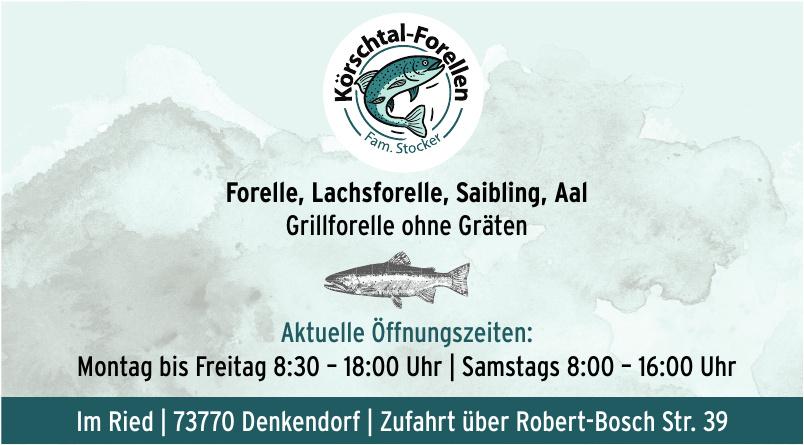 Körschtal-Forellen Fam. Stocker
