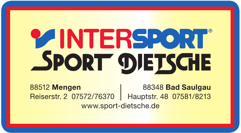 Intersport - Sport-Dietsche GmbH & Co.KG