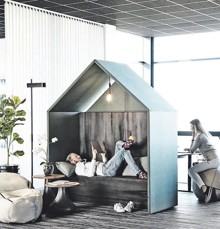 Auch bei offenen Grundrissen lassen sich Rückzugsräume schaffen, damit sich alle wohlfühlen Foto: BHW Bausparkasse