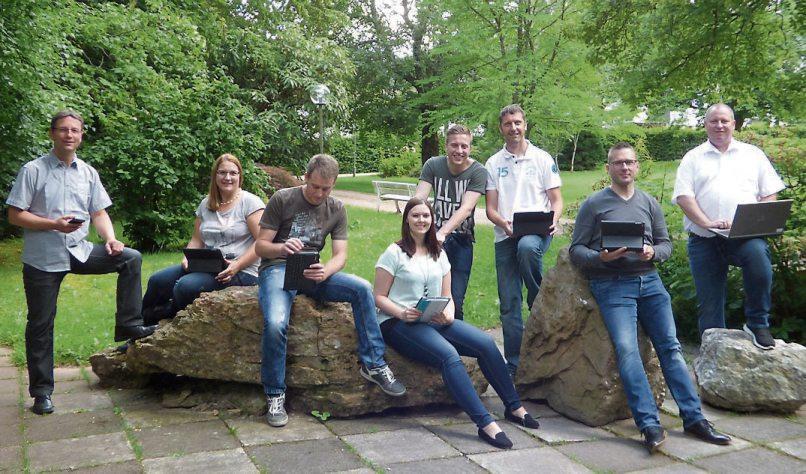 Die Mitglieder der Innovationswerkstatt der Volksbank Horb-Freudenstadt. Bild: Volksbank