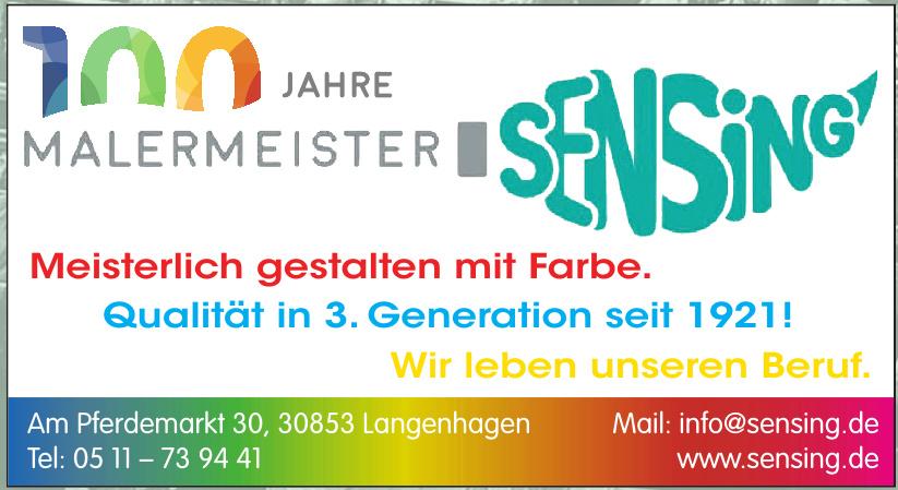 Malermeister Sensing GmbH