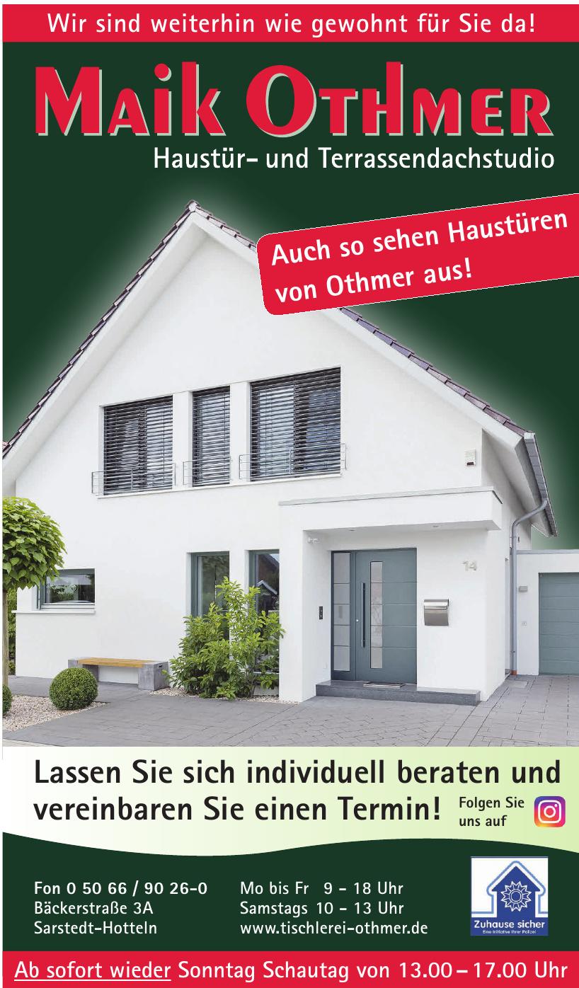 Maik Othmer Haustür- und Terrassendachstudio