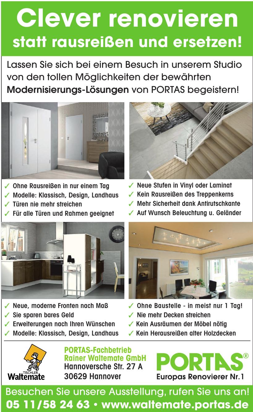 Tischlerei - Rainer Waltemate GmbH
