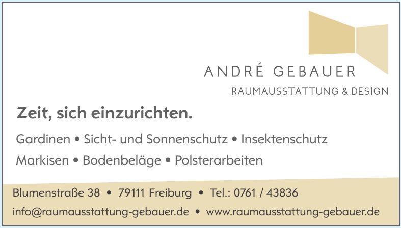 André Gebauer Raumausstattung & Design