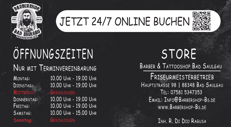Barber & Tattooshop Bad Saulgau