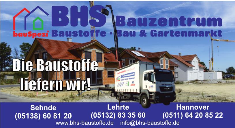 BHS Bauzentrum Baustoffe, Bau & Gartenmarkt