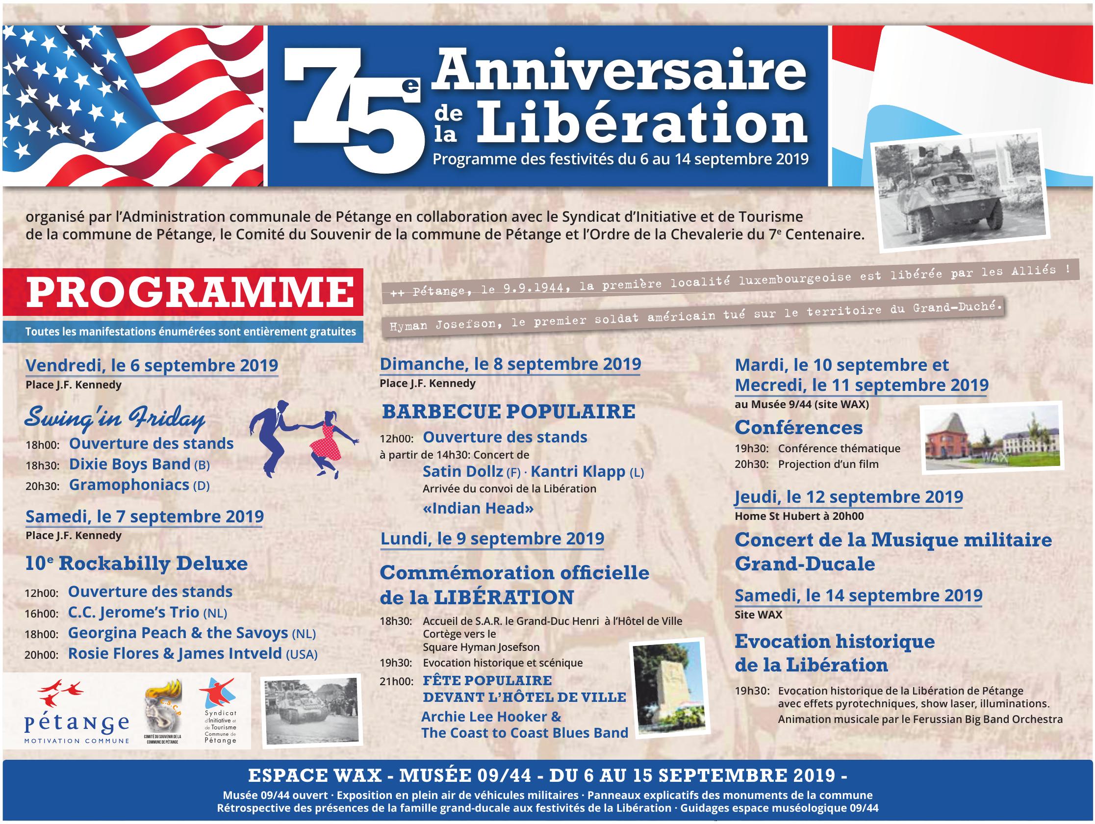 75 Anniversaire de la Libération