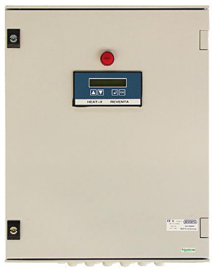 Der mitgelieferte Controller des »Heat-X« Rotate regelt die Tauscherleistung nach Temperatur und relativer Luftfeuchtigkeit