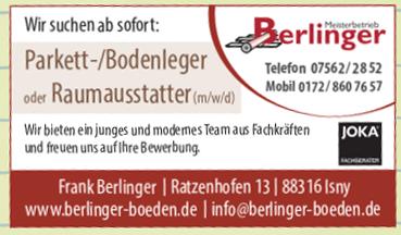 Berlinger Parkett & Fußböden