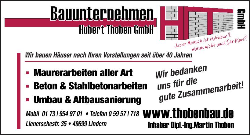 Bauunternehmen Hubert Thoben GmbH