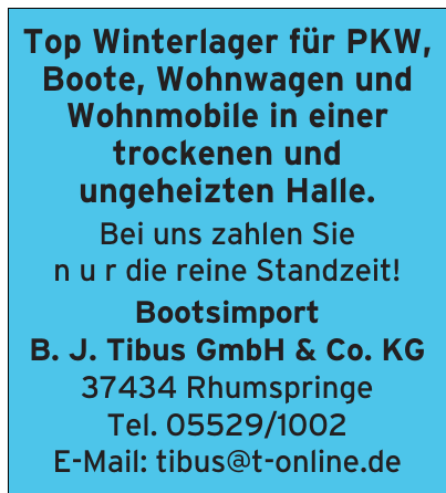 Bootsimport B. J. Tibus GmbH & Co. KG