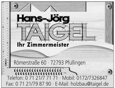 Holzbau Taigel