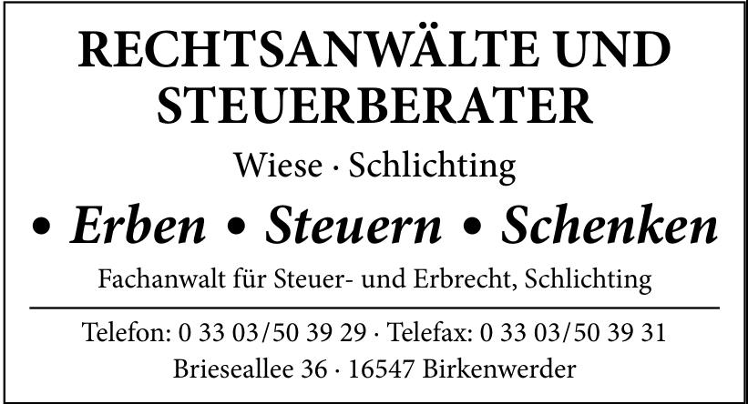 Wiese & Schlichting