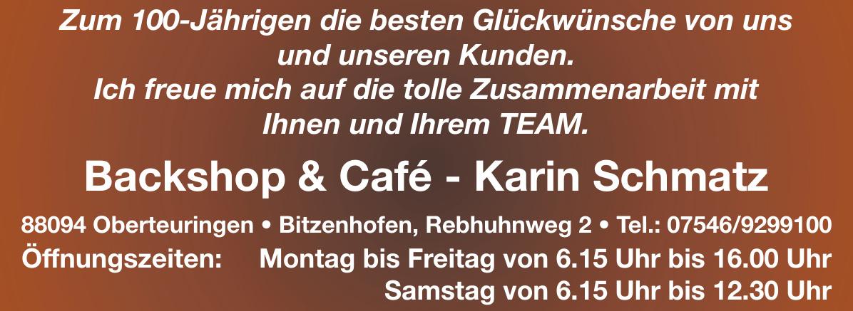 Backshop & Café - Karin Schmatz