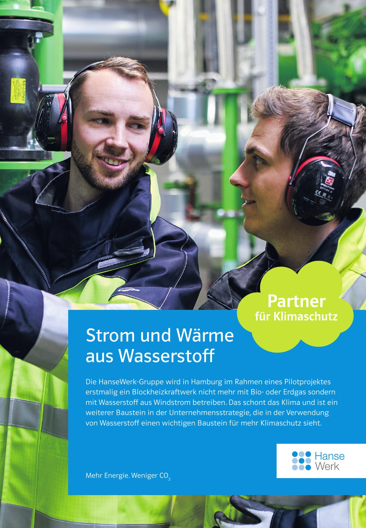 HanseWerk - Mehr Energie. Weniger CO2