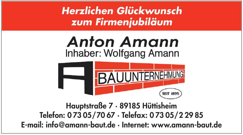 Anton Amann Bauunternehmung