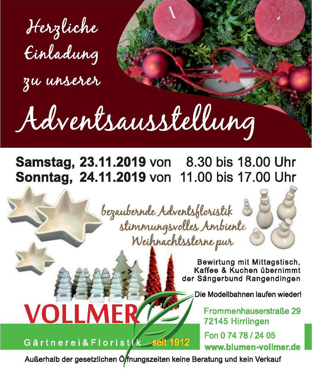 Vollmer Gärtnerei & Floristik